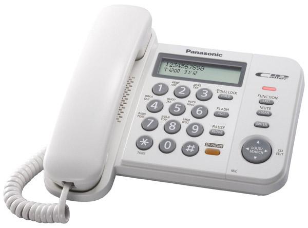 Телефон Panasonic KX-TS2356CAW (KX-TS2356CAW) - ALSI